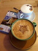 coffee and travel book